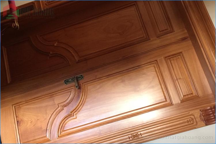 Cửa đôi gỗ Gõ Đỏ cao cấp - Gia Hoàng.,Ltd