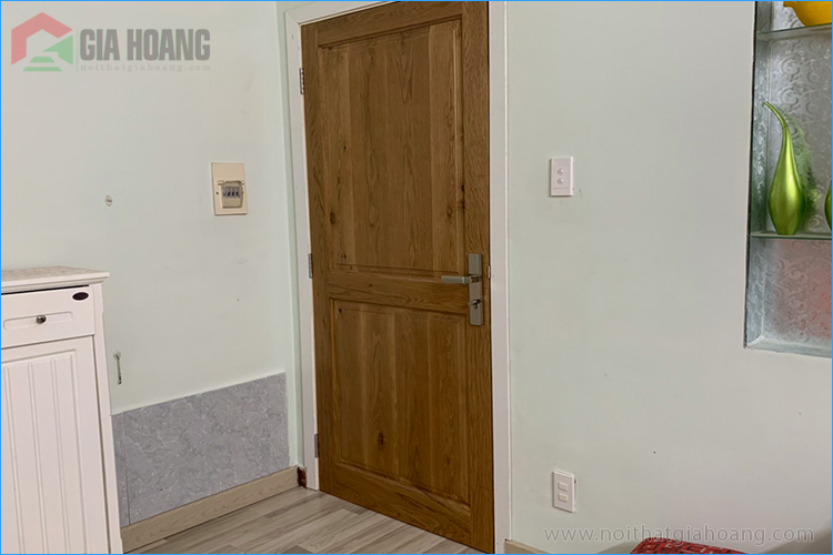 Công trình cửa gỗ Sồi tự nhiên - Nội thất Gia Hoàng