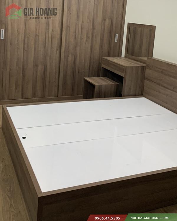 Giường - tủ trang điểm nội thất phòng ngủ