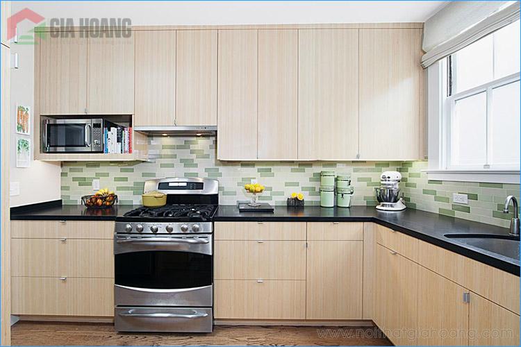 Kích thước phòng bếp như thế nào là hợp lý?