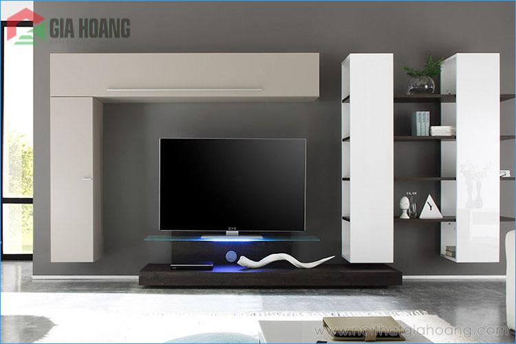 Diễn đàn rao vặt: Làm thế nào để lựa chọn kệ tivi phù hợp cho phòng khách? Noi-that-ke-tivi-go-1