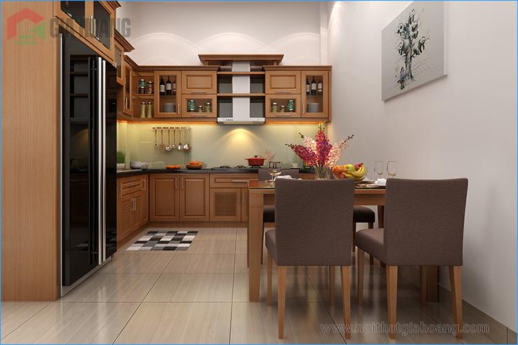 Tủ bếp thiết kế gia công - Gia Hoàng Ltd