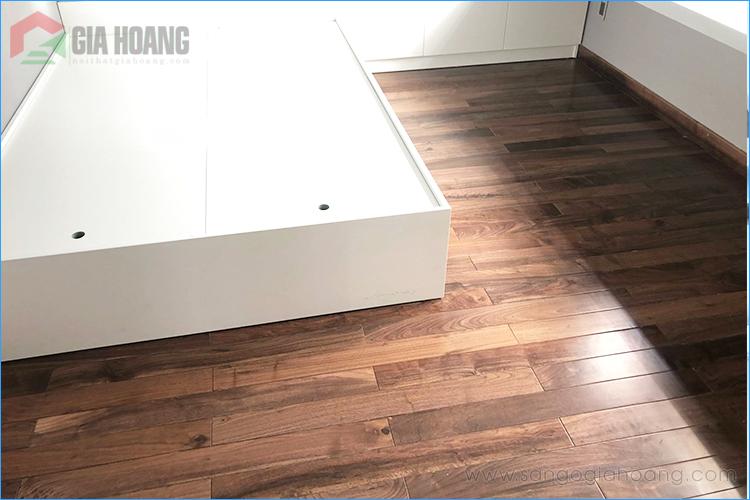 Công trình sàn gỗ Óc Chó Walnut - Giahoang.,Ltd