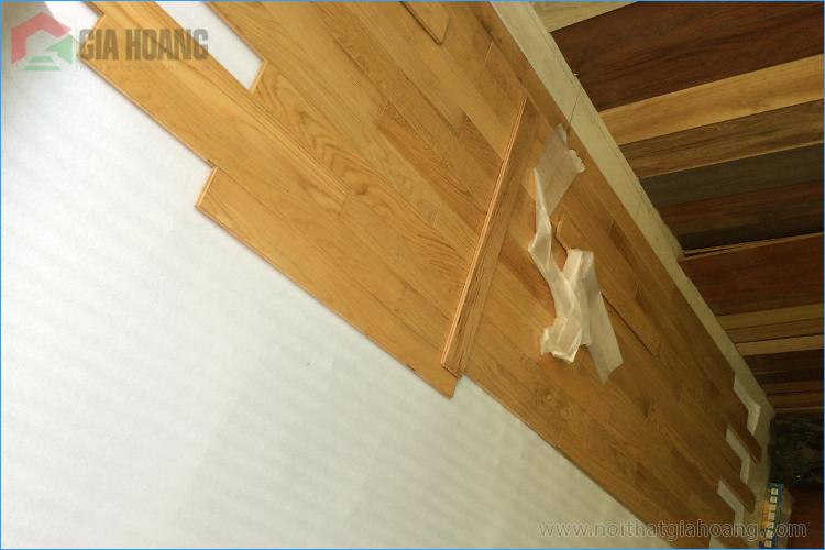 Sàn gỗ Sồi tự nhiên - Sàn gỗ nội thất Gia Hoàng