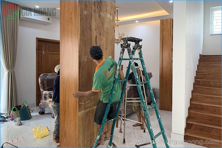 Thi công trọn bộ nội thất gỗ Gõ Đỏ Nam Phi