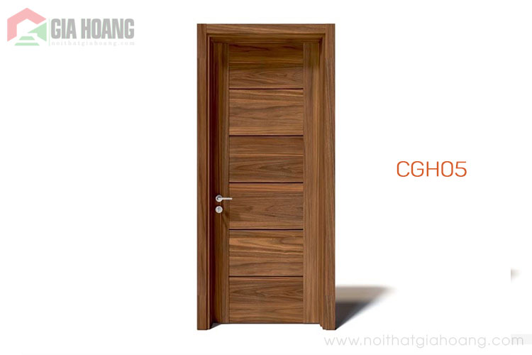 Mẫu cửa gỗ tự nhiên hiện đại CGH03
