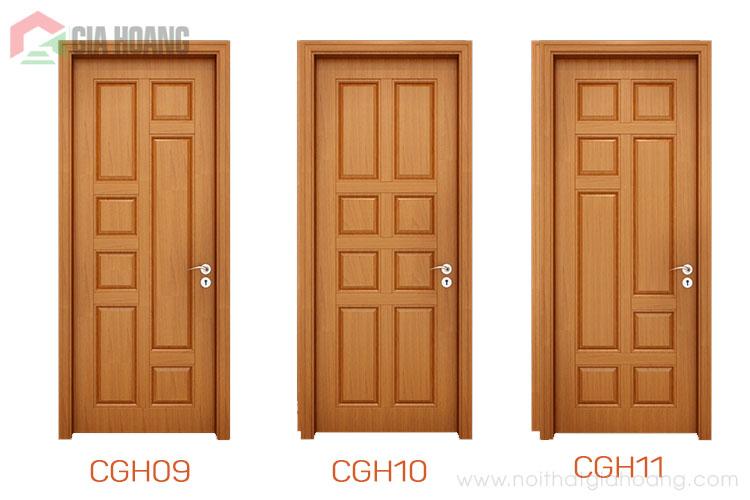 Thiết kế mẫu cửa gỗ tự nhiên mới nhất 2020