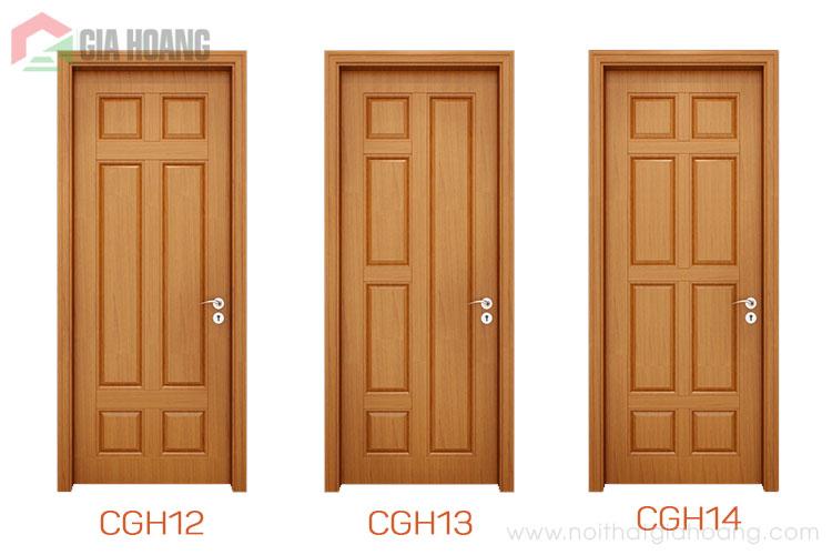 Thiết kế cửa gỗ tự nhiên cho phòng ngủ độc đáo