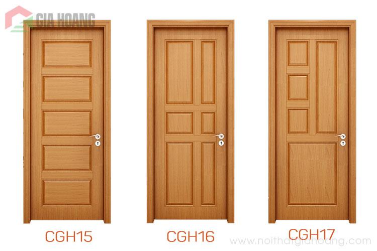 Thiết kế cửa gỗ tự nhiên nhập khẩu cao cấp
