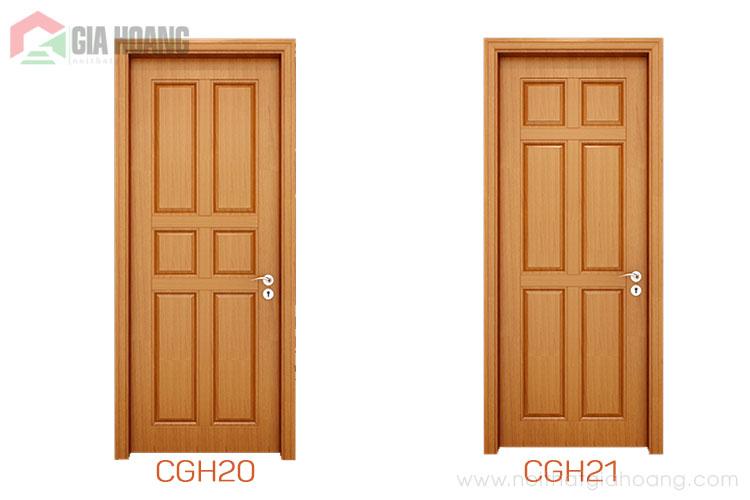 2 mẫu trong bộ sưu tập cửa gỗ đẹp nhất 2020