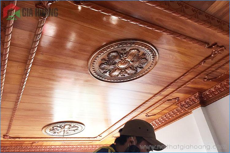 Gia công ốp trần gỗ Gõ chuyên nghệp tỉ mỉ