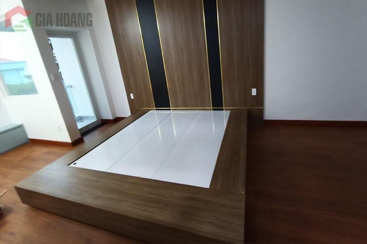 Công trình sàn gỗ - nội thất công nghiệp quận Tân Phú, HCM