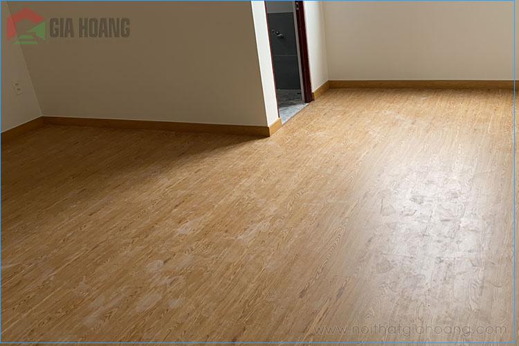 Công trình sàn nhựa giả gỗ Galamax SPC 1007 tại quận 8 , HCM