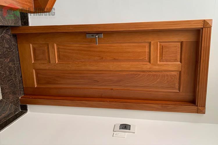 Công trình trọn bộ nội thất Gõ Đỏ tự nhiên TP HCM