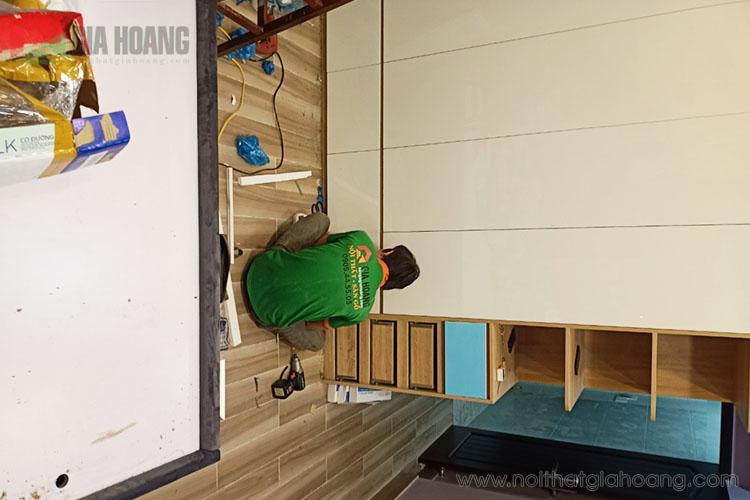 Gia công chế biến tủ gỗ công nghiệp đa dạng kiểu dáng