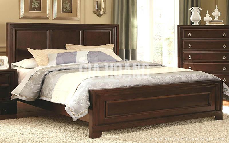 Giường gỗ Gia Hoàng