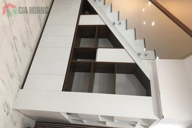 Tủ chân cầu thang đẹp