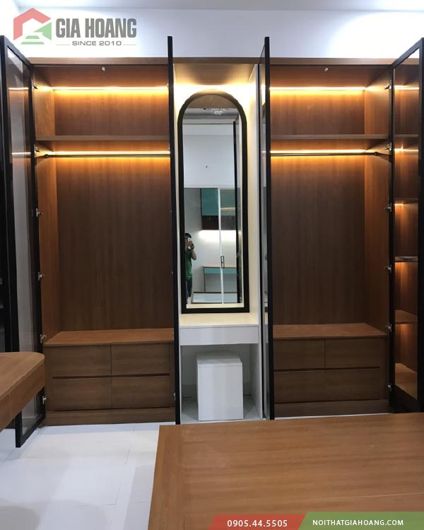 Tủ cánh kính thông minh - Gia Hoàng.Ltd