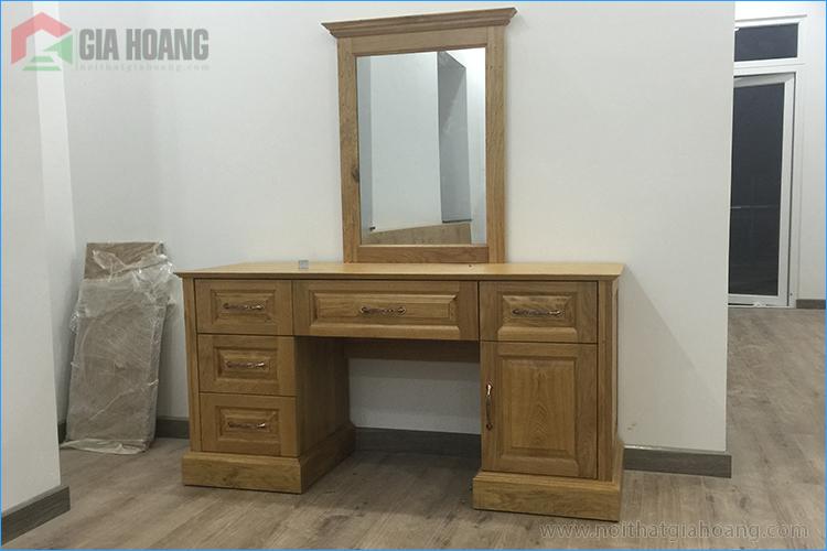 Tủ trang điểm gỗ Sồi