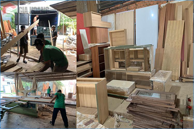 Xưởng gỗ nội thất Gia Hoàng
