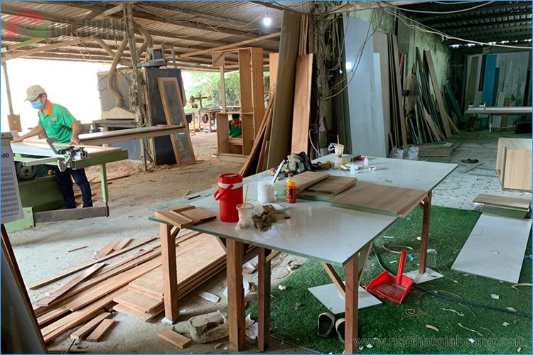 Xưởng gia công sản xuất gỗ Óc Chó Gia Hoàng